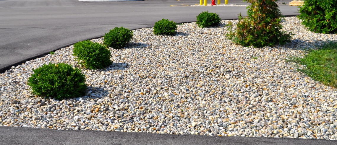 River Rock Yard Landscaping